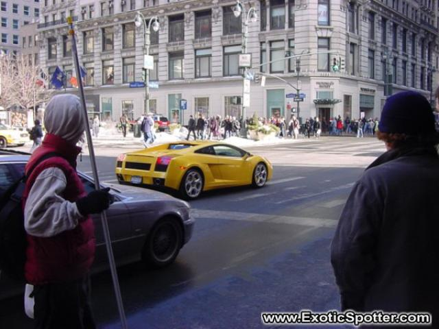 Lamborghini Gallardo Spotted In New York, New York
