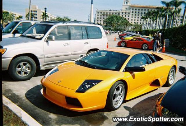 Lamborghini Murcielago spotted in Palm Beach, Florida