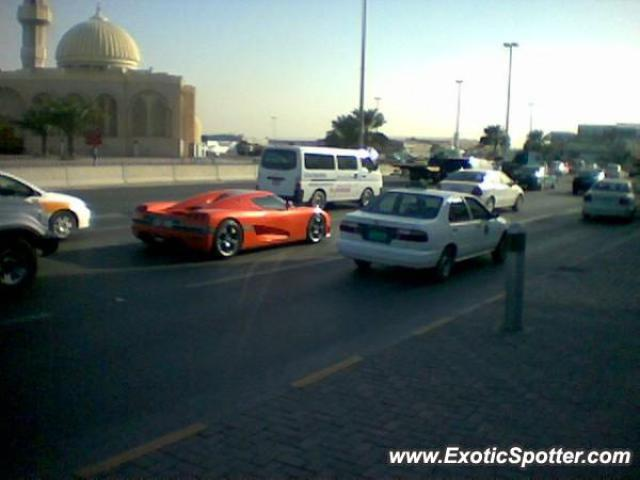 Koenigsegg CCR spotted in Sharjah, United Arab Emirates