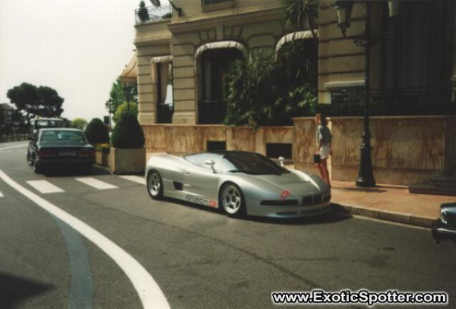 BMW Italdesign Nasca C2 spotted in Monte Carlo, Monaco