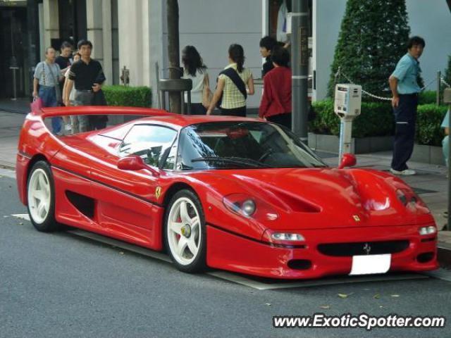 Ferrari F50 Spotted In Tokyo Japan On 09102006