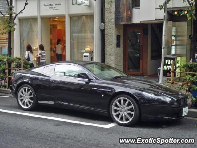Aston Martin DB9 spotted in Tokyo, Japan