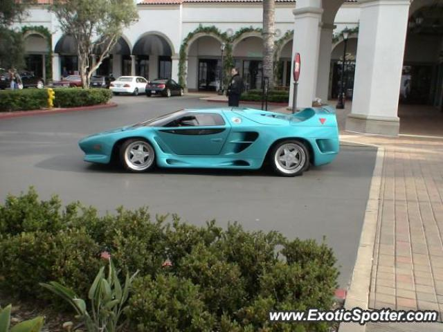 Vector W8 spotted in Newport, California