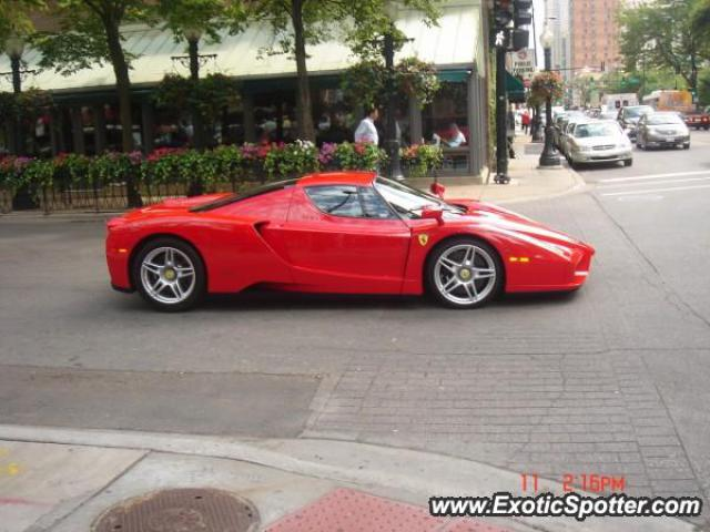 Ferrari Enzo Spotted In Chicago Illinois On 06262006