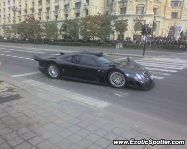 Mercedes CLK-GTR spotted in Bucharest, Romania