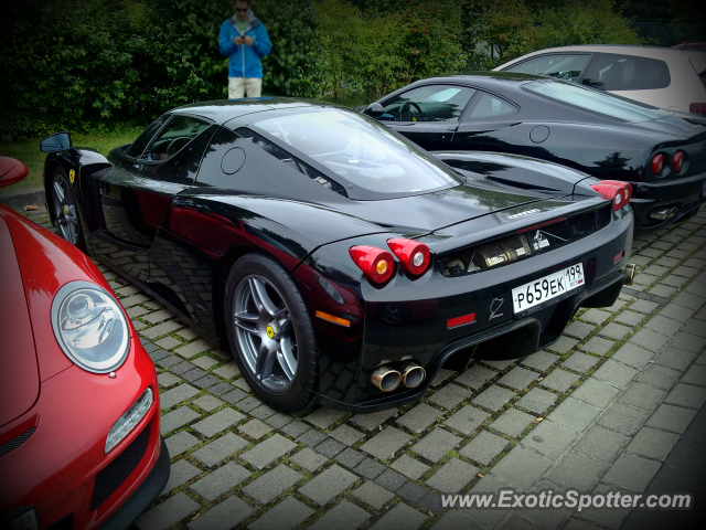 Ferrari Enzo spotted in Nurburgring, Germany