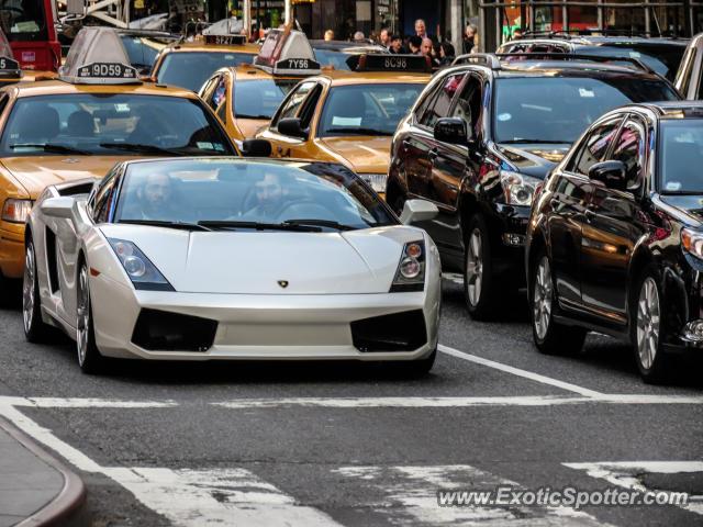 Lamborghini Gallardo Spotted In New York City, New York