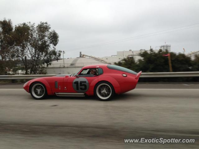 Shelby Daytona spotted in Monterey, California