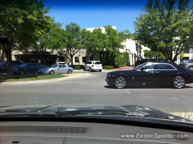Rolls royce ghost spotted in dallas texas on 04 20 2013 for Rolls royce motor cars dallas