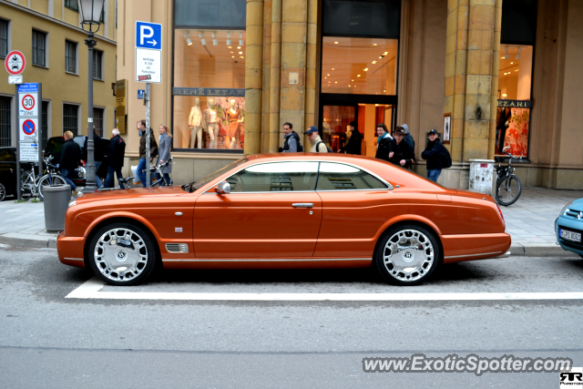 Bentley Brooklands spotted in Munich, Germany