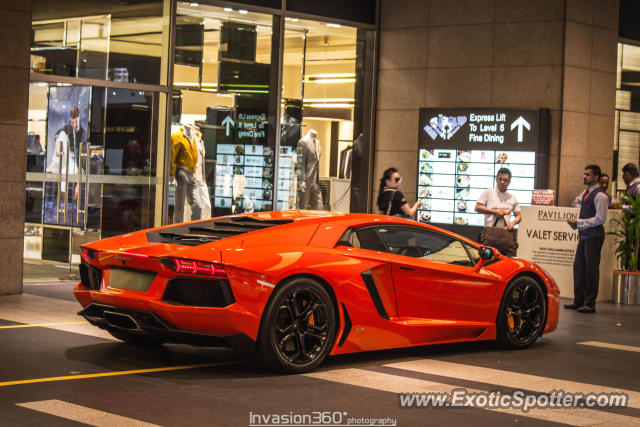 Lamborghini Aventador Spotted In Kuala Lumpur Malaysia On 04 20 2013