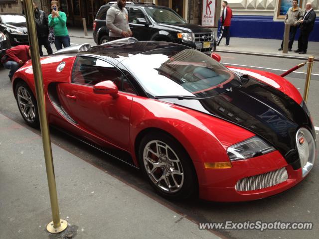 bugatti veyron spotted in manhattan new york on 04 20 2013. Black Bedroom Furniture Sets. Home Design Ideas