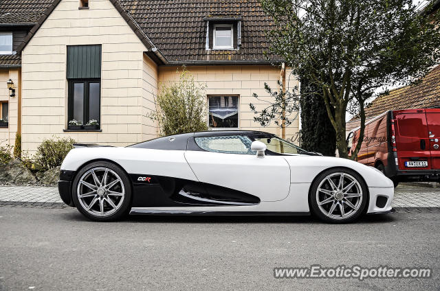 Koenigsegg CCR spotted in Nuerburg, Germany