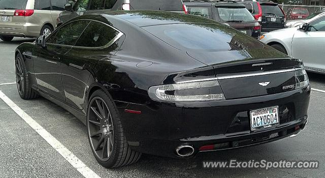 Aston Martin Rapide Spotted In Seattle Washington On 05 11 2013