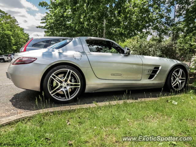 Mercedes sls amg spotted in paramus new jersey on 05 13 2013 for Mercedes benz paramus nj