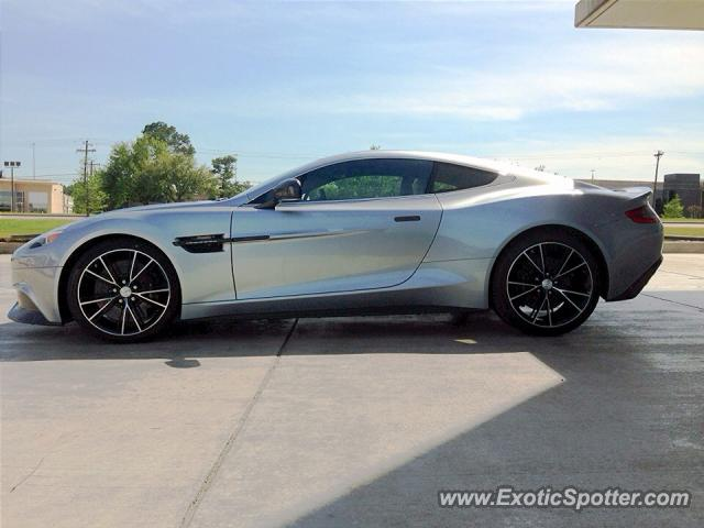 Aston Martin Vanquish spotted in Metairie, Louisiana