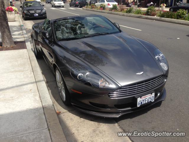 Aston Martin DB Spotted In Los Angeles California On - Aston martin los angeles