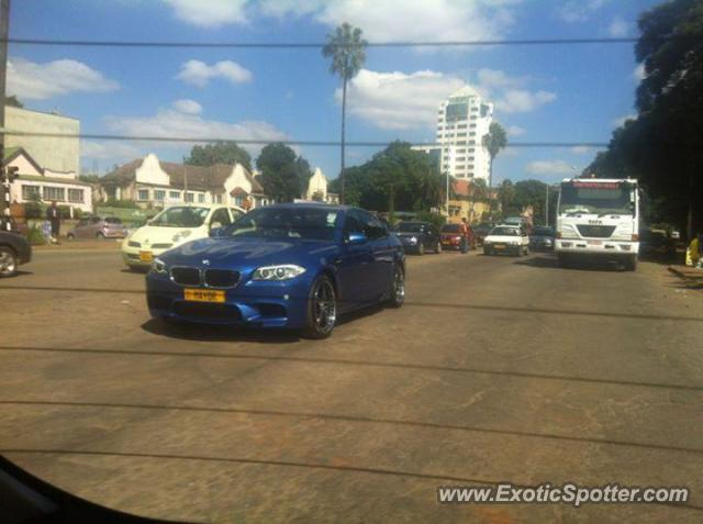 Bmw M5 Spotted In Avondale Zimbabwe On 04 09 2013