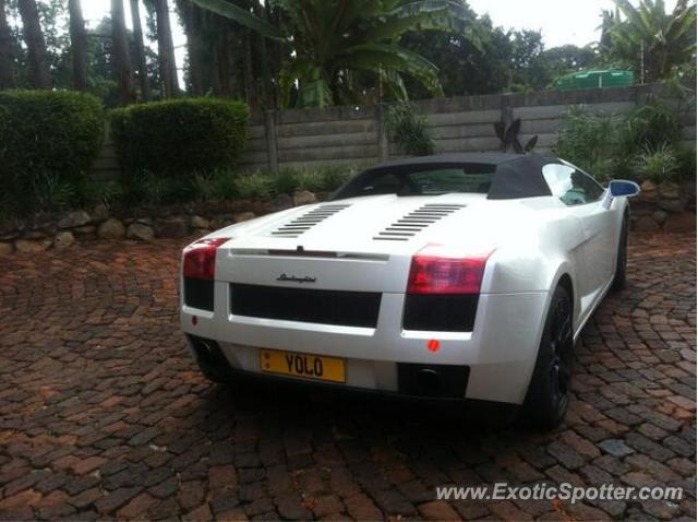 Lamborghini Gallardo Spotted In Harare Zimbabwe On 05 01 2013