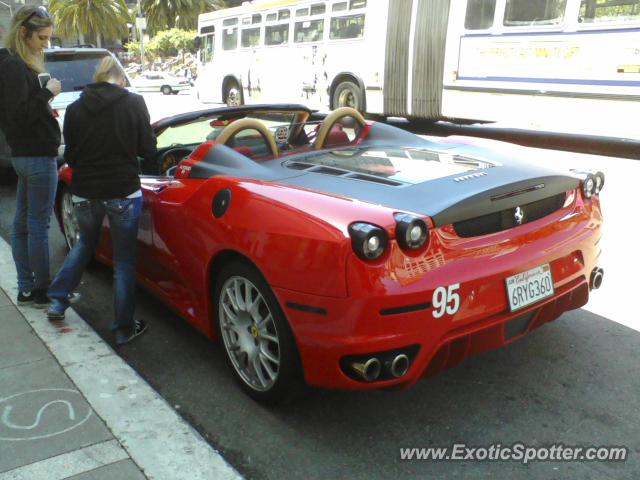 ferrari f430 spotted in san francisco california on 05 25. Cars Review. Best American Auto & Cars Review