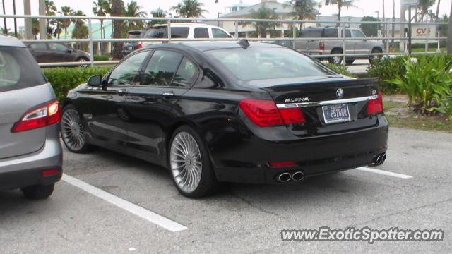 BMW Alpina B7 Spotted In Jupiter Florida