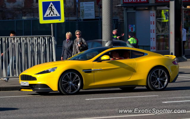 Don't see many yellow Aston Martin's. : Autos