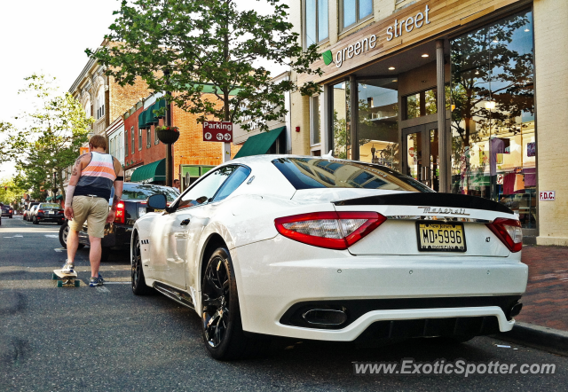 Maserati GranTurismo spotted in Red Bank, New Jersey