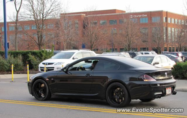 BMW M Spotted In Columbus Ohio On - 2011 bmw m6