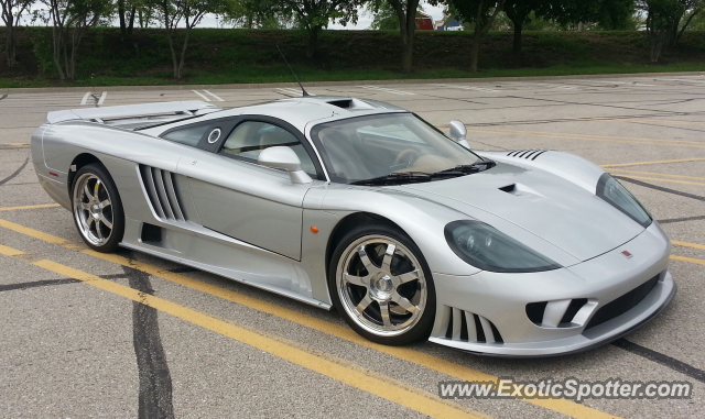 Saleen S7 spotted in Davenport, Iowa on 06/02/2013