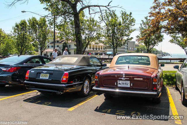Rolls Royce Silver Wraith spotted in Greenwich, Connecticut