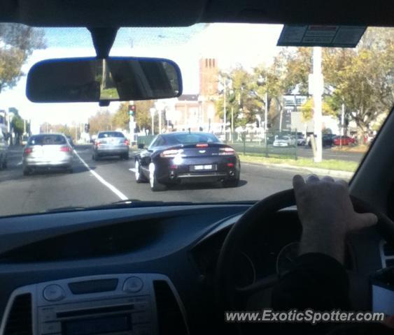 Aston Martin DB9 Spotted In Melbourne, Australia On 06/10/2013