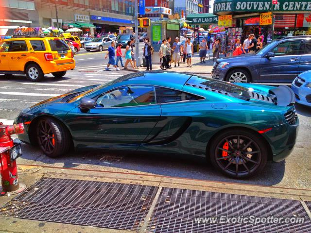 Mclaren MP4-12C spotted in New York City, New York