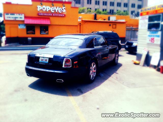 Rolls Royce Phantom spotted in Chicago, Illinois