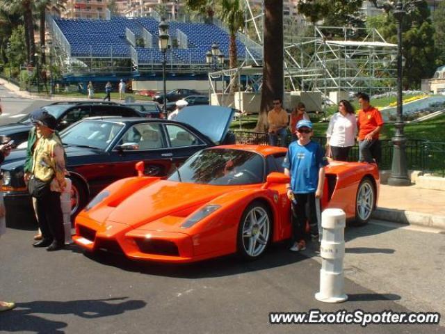 Ferrari Enzo Spotted In Casino Square Monaco On 01072007