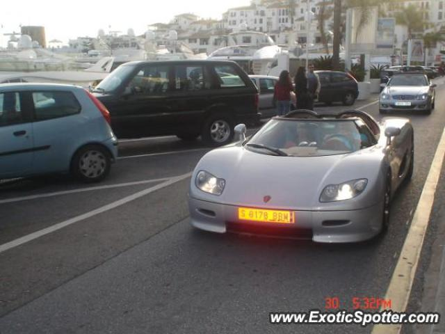 Koenigsegg CC8S spotted in PUERTO BANUS, Spain