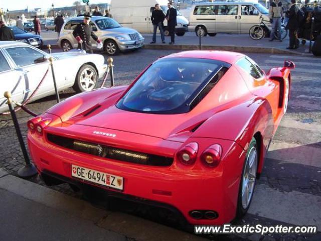 Ferrari Enzo Spotted In Geneva Switzerland On 01212007