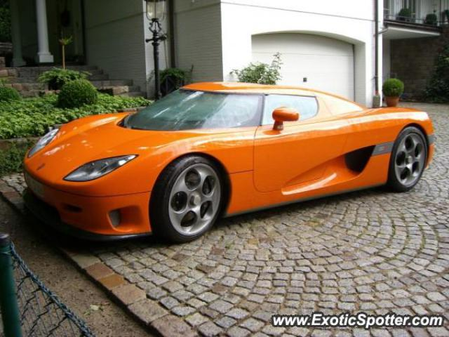 Koenigsegg CCR spotted in Hamburg, Germany