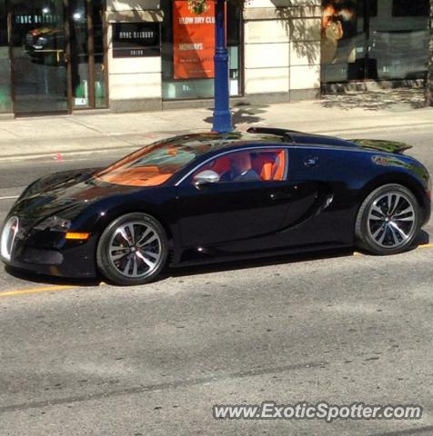 bugatti veyron spotted in toronto canada on 06 07 2013. Black Bedroom Furniture Sets. Home Design Ideas