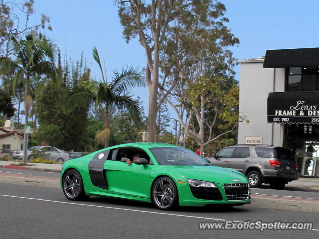 audi r8 spotted in newport beach california on 05 25 2013. Black Bedroom Furniture Sets. Home Design Ideas