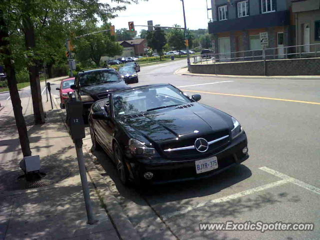 Mercedes sl 65 amg spotted in st catharines on canada on for Mercedes benz st catharines