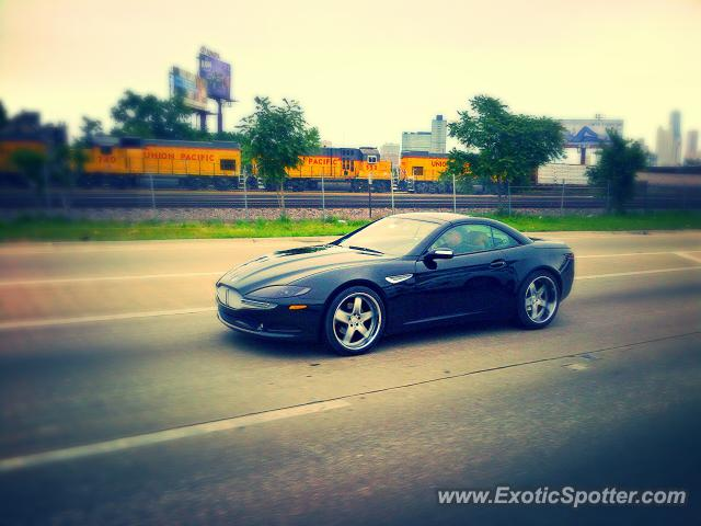 Fisker Tramonto spotted in Chicago, Illinois