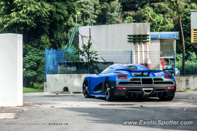 Koenigsegg Agera R spotted in Singapore, Singapore