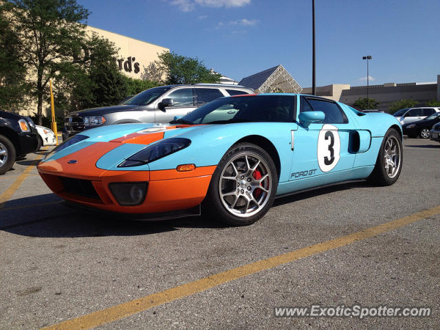 Ford GT Spotted In Omaha Nebraska On - Ford omaha
