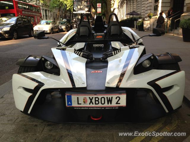 KTM X-Bow spotted in London, United Kingdom