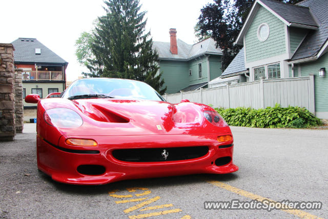Ferrari F50 spotted in London Ontario, Canada