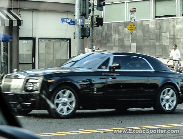 Rolls Royce Phantom spotted in Los Angeles, California