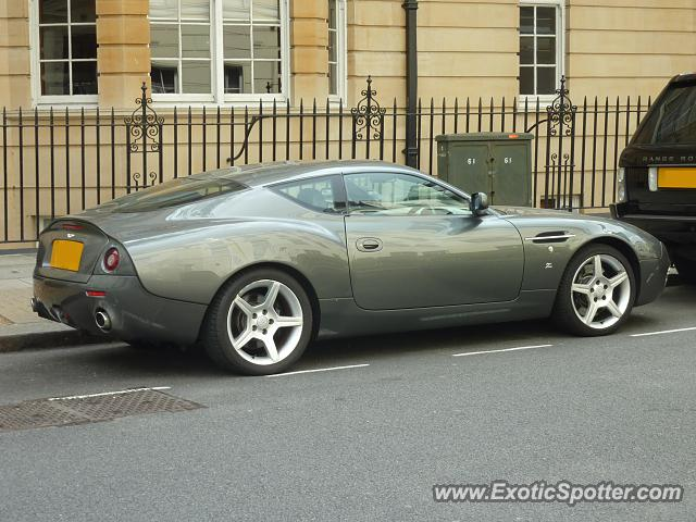 Aston Martin DB7 spotted in London, United Kingdom
