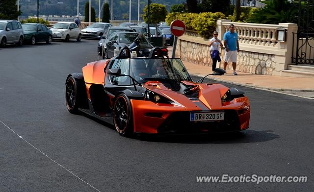 KTM X-Bow spotted in Monte Carlo, Monaco