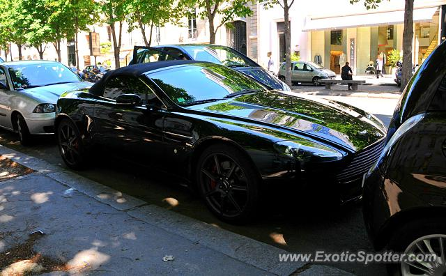 aston martin vantage spotted in paris france on 05 28 2008. Black Bedroom Furniture Sets. Home Design Ideas