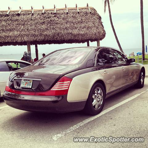 Mercedes Maybach spotted in Deerfield Beach, Florida